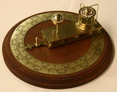 Ferguson's Orrery - made entirely in the U.S.A. by American craftsmen.  Astronomical device - Move the lever to the correct date and find the correct position of the earth on its axis, in relation to the sun and moon.