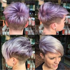 Hair cuts, hair styles и shaved pixie. Shaved Pixie Cut, Sassy Hair, Funky Hairstyles, Undercut Hairstyles, Pixie Haircuts, Highlighted Hairstyles, American Hairstyles, Shaved Hairstyles, Hairstyles 2018