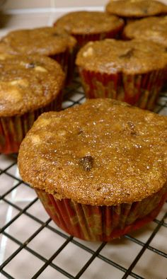Vegan Banana Nut Bread Muffins with Chocolate Chips!