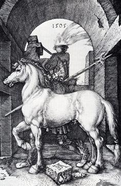 Albrecht Dürer ~ The Small Horse, 1505