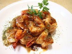 タイ料理♡クンカティアム(海老のにんにく炒め)