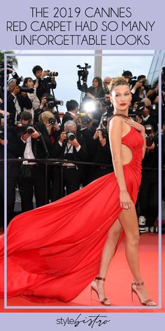 One of the most anticipated sartorial events of the year, the Cannes Film Festival, always brings the drama with its glitzy red carpet and A-list attendees. And we wouldn't expect anything less from the 12-day stylish affair thanks to the multitude of premieres and parties that take place in the French Riviera.