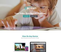 Uscreen is the simplest way to sell videos to your customers. Users can buy, rent or subscribe to any of the videos & view the content on a variety of devices including phones and tablets.Our team inherited the project from Uscreens previous team and lead Uscreen to it's successful launch. https://netguru.co/blog/video-marketing-introducing-uscreen