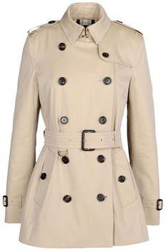 Burberry London coat, $1,595, shopBAZAAR.com.   - HarpersBAZAAR.com