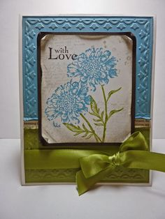 7/11/2012; Joan Robertson at 'Joan's Daily Stampede' blog using SU products; Field Flowers stamp set