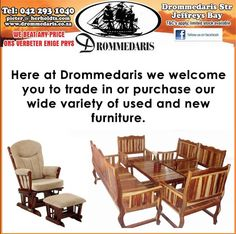 Drommedaris is well known for years of trading in the used and antique furniture market. The second division of Drommedaris provides you with a great avenue to sell your used and new furniture to willing furniture buyers. Furniture Buyers, Furniture Market, New Furniture, Antique Furniture, Outdoor Furniture Sets, Outdoor Decor, Division, Home Improvement, Two By Two