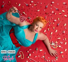 Photo by Anssi Viljakainen, kuvatuulos candies, victory rolls