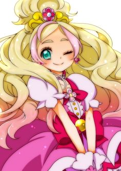 Cure Flora Go!Princess Precure