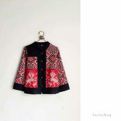 Tenun troso jepara Model Dress Batik, Batik Dress, Batik Fashion, Ethnic Fashion, Womens Fashion, Batik Danar Hadi, Mode Batik, Batik Kebaya, Blouse Batik