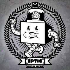 Eptic dubstep Dubstep, Electronic Music, Edm, Cyberpunk, Musicals, Artwork, Sticker Ideas, Bass, Posters