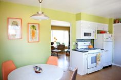 House Tour: A Colorful Mid-Century House in Portland   Apartment Therapy