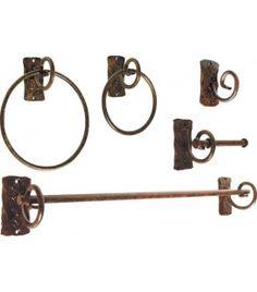 Venta de accesorios de baño, diseño forja. M24-00