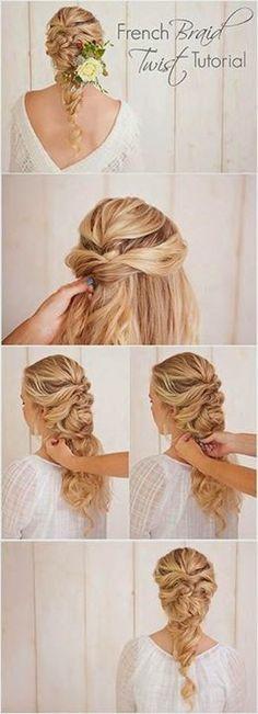 French Braid Twist Tutorial..