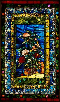 Peonies Blown in the Wind - The Metropolitan Museum of Art - Peonies Blown in the Wind Maker: John La Farge (American, New York 1835–1910 Providence, Rhode Island) Date: ca. 1880 Culture: American Medium: Leaded opalescent glass Dimensions: 75 x 45 in. (190.5 x 114.3 cm) Classification: Glass Credit Line: Gift of Susan Dwight Bliss, 1930 Accession Number: 30.50