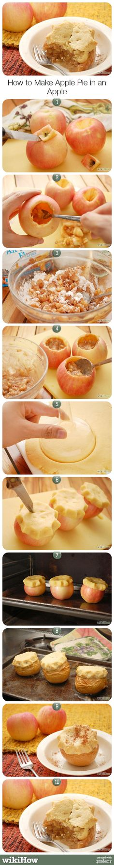 How to Make Apple Pie in an Apple
