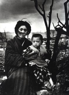 Hiroshima, four months after. By Alfred Eisenstaedt, 1945