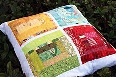 Frivolous Necessity: Windows Patchwork Pillow