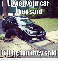 Looking to customize your Subaru? We carry a wide variety of Subaru accessories including dash kits, window tint, light tint, wraps and more. Shop now! Funny Car Memes, Car Humor, Hilarious, Funny Humor, Funny Laugh, Funny Life, Memes Humor, E90 Bmw, Jetta Mk5