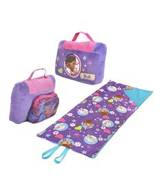 Take a look at this Doc McStuffins Sleeping Bag & Pillow by Doc McStuffins on #zulily today!