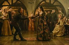 Reign, season 4, episode 3, Leaps of faith. Queen Mary and Gideon.