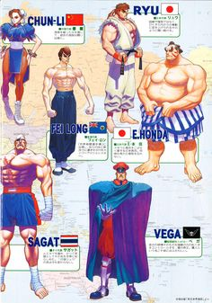 The Arcade Flyer Archive - Video Game Flyers: Super Street Fighter II - The New Challengers, Capcom Ryu And Chun Li, Arcade, Street Fighter Tekken, Manga, Super Street Fighter, New Challenger, Creation Art, Doja Cat, King Of Fighters
