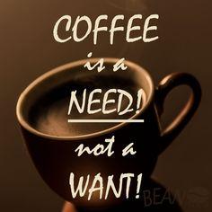 Coffee quote Glad we have set that straight! #coffee #beanhookup #Perth #Australia #caffeine #coffeeaddict