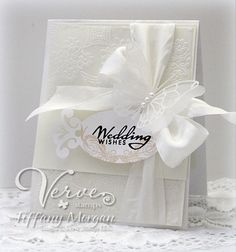 Wedding Wishes. Verve Stamps March Diva Blog Hop by mammatiffy - Cards and Paper Crafts at Splitcoaststampers
