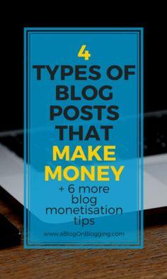 4 Types Of Blog Post
