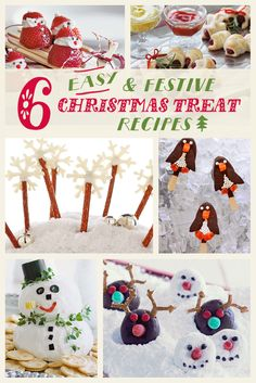 ... strawberry Santas, sausage wreaths, snow-nuts and Frosty the cheeseman