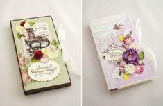 Весна на Sees All Colors: Открытки и шоколадницы Екатерины Писаревой