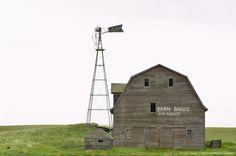 Old Barn, Saskatchewan, Canada