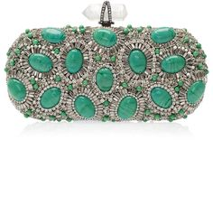 Marchesa ~ Crystal and Stone Clutch