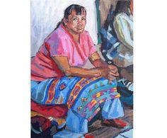 Southwestern Santa Fe New Mexico Native American Fine Art Print 8x10 by GwenMeyerson, $20.00