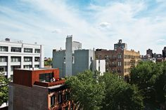 Alex Gil and Claudia DeSimio created a duplex in an apartment building where they'd been renting for years in Brooklyn, New York, and set to work gutting the interior and adding a new rooftop addition clad in panels of Cor-Ten steel.  Photo by: Paul BarberaCourtesy of: Paul Barbera