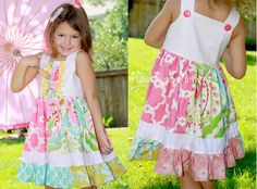 Cute As a Button Dress PDF Pattern by Millie by millierosepatterns, $10.50  My favorite dress for layering!