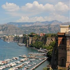 """MAGNIFICENT ITALY & THE AMALFI COAST""  On this Escorted Tour travelers experience the magic of Italy's great triad...Venice, Florence, Rome plus the Sorrentine Peninsula. Relax in the comfort of one of our modern, air-conditioned, smoke-free motorcoaches and stay at lovely first class hotels."