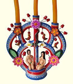 Mexican Tree of Life Candelero