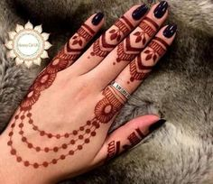 Gorgeous Henna For Eid