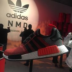 """Like NMDs? It's all here in Chinatown. Oh, and Miguel is going to be here later too with what was referred to a while ago at sound check as """"baby-making music"""""""