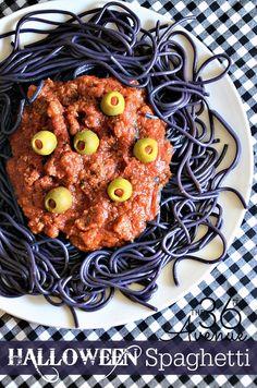 Halloween Spaghetti Recipe by the36thavenue.com