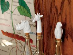 Soverign Safari Wine Stopper in Assorted Styles design by imm Living