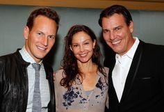 (L-R) Patrick Wilson, Ashley Judd and Paul Wilson