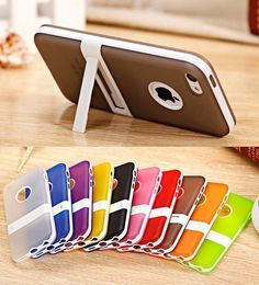 Colorful Clear Transparent TPU Soft Case Cover for iphone 6 6S 4.7 inch Phone Bags Back Cover for iphone 6S 6 Capa Fundas Coque