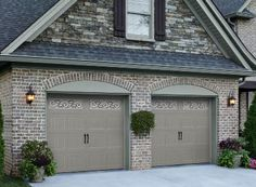decorative contemporary garage doors...need to update ours