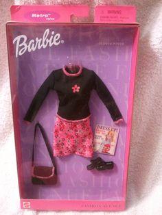 Amazon.com: Barbie Fashion Avenue Metro Flower Power Fashion Outfit: Toys & Games