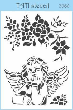 Трафарет объёмный TATI stencil 3060. цена: 29.00 грн. А6, 15 х 10 см. Трафареты TATI stencil Hobby & Decor - товары для рукоделия