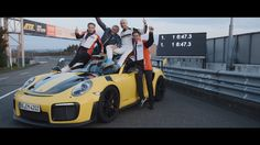 6 minutes, 47.3 seconds. Porsche sets a world record on the Nürburgring ...