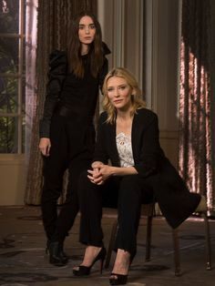 Image result for rooney mara and cate blanchett