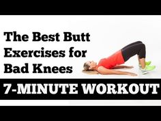 Toning the glutes is a MUST for me, but my knees aren't always up to the…