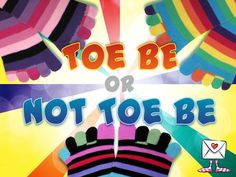 We have a variety of toe socks!
